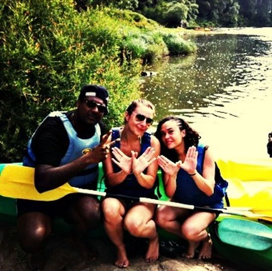 Friends Kayak Good Times Summer2014