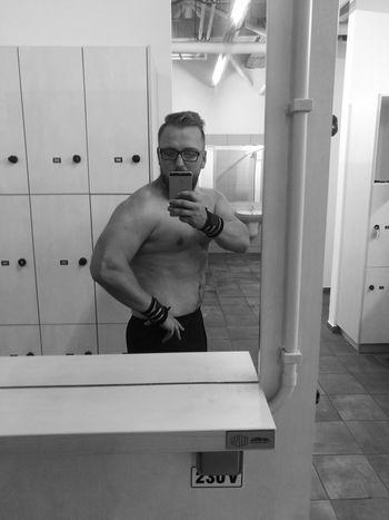 Men Shirtless Gym Real People First Eyeem Photo