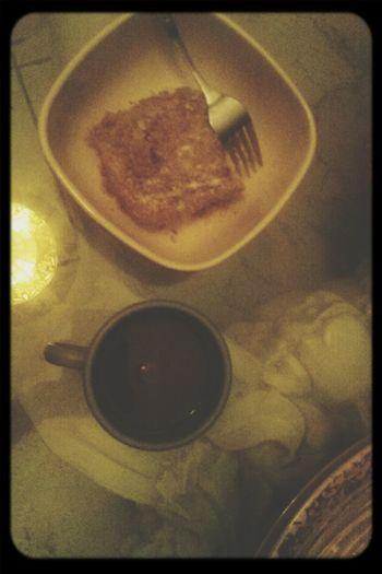Late night coffee and cake♡ Late Nights