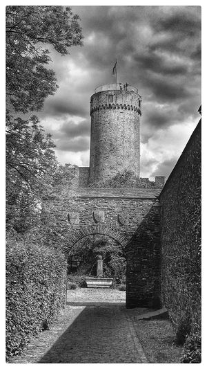 Castle Castles Old Castle Old Buildings B&W Collection Black & White