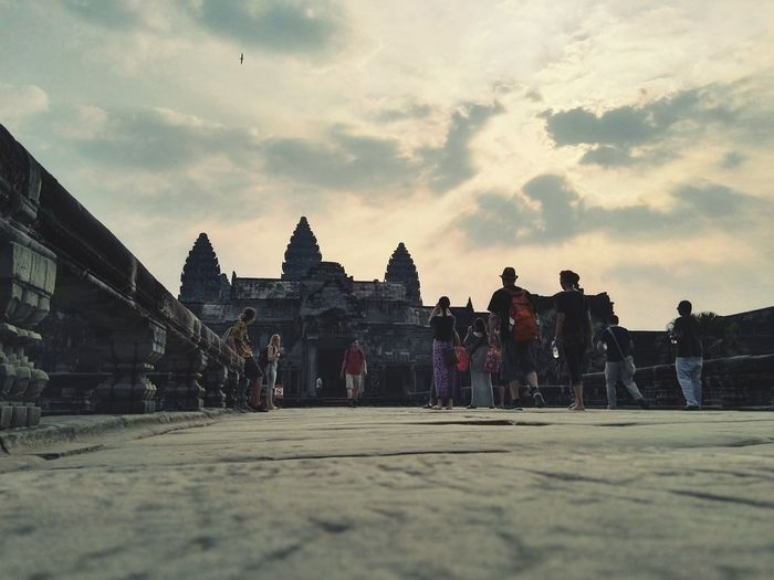 Road to Cambodia Cambodia Tour Siem Reap Angkor Wat Temple .Cambodia First Eyeem Photo