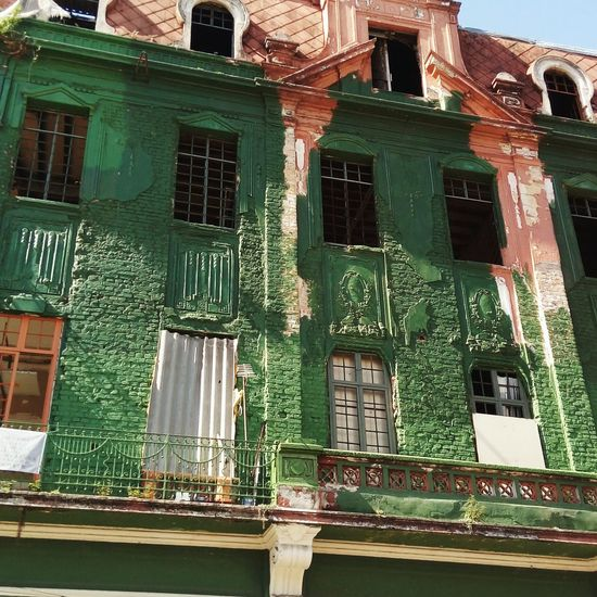 Old Town Old Buildings Old House Old Ruin Old But Awesome Outdoor Photography Ornate Outside Photography Day Window Architecture Building Exterior Obsolete History Green Color No People House street
