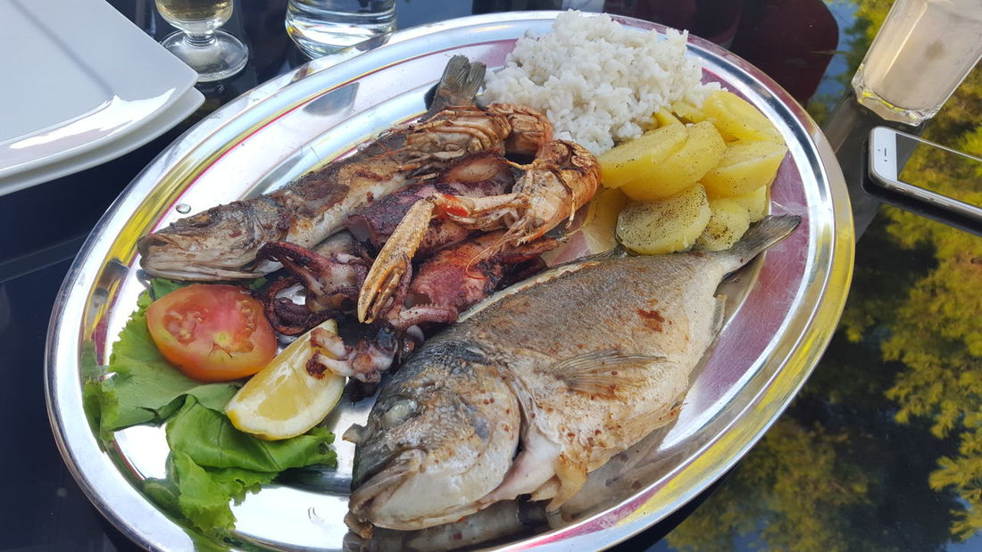 Fish Food Food And Drink Healthy Eating Plate River Table