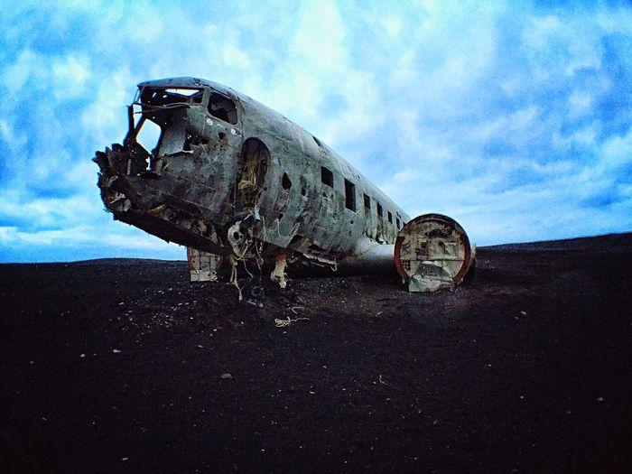 EyeEm EyeEm Best Shots Sólheimasandur Plane Wreck Sólheimasandur Iceland Plane Wreckage Blacksand Black Sand
