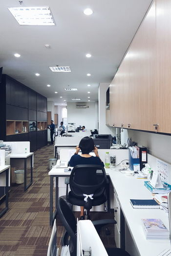 WomeninBusiness Office Desk Working At Work Business Working Desk Office Life Shelf Office Drawers Drawers Woman Woman Working Leading Lines Ear Plugs Telling Stories Differently