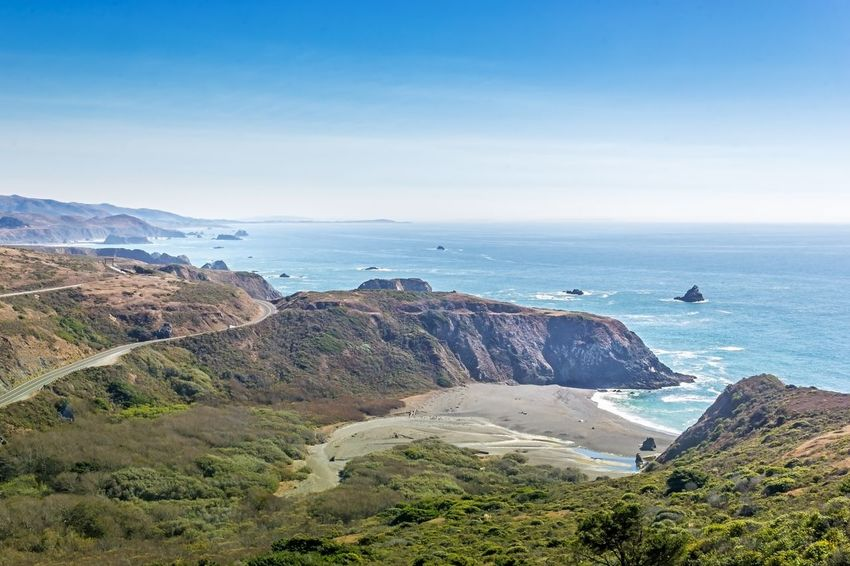 Highway 1 Tourist Destination Tourism Roadtrip Travel Pacific Coast Highway Pacific Ocean Pacific Coast California Dreaming California Coast California Highway 1 Sea Nature Beauty In Nature Scenics Horizon Over Water Water Tranquility Tranquil Scene High Angle View No People Outdoors Mountain Beach Blue Clear Sky Day Summer Exploratorium The Great Outdoors - 2018 EyeEm Awards