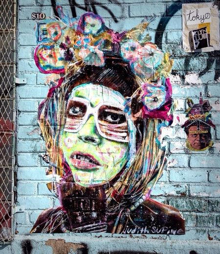 Judith Supine Graffiti Brooklyn Timyoungiphoneography