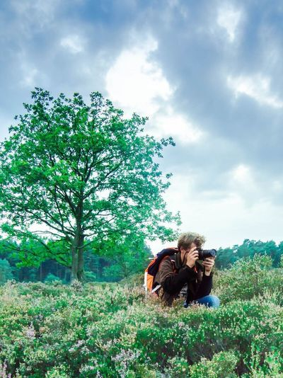 Walking #beautifulinnature #welovenature #naturalbeauty #springisintheair #arnhem Selfie ✌ Nature Me :)  Enyoing The Moment Enyoing Nature Tree Peace And Quiet Green Color Adidas Adidas Originals Landscape Hogeveluwe
