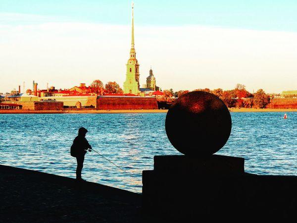 Fishing Peterburg Petropavlovskayafortress