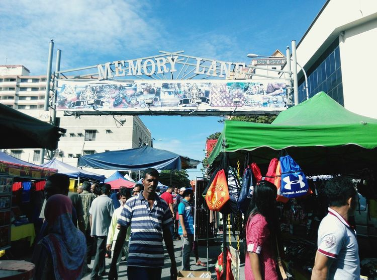 "My visit to ""pasar karat"" @Memory Lane the place where people sell their old stuff. Memory Lane Old Stuff Street Photography Crowds Taking Photos Flea Market"