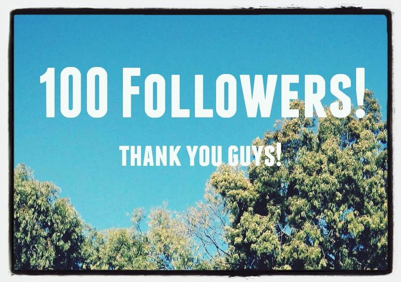 Thank you everyone! 100 Followers Taking Photos Spreading Greatfulness Eyeem Israel