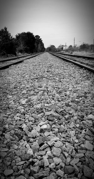 Welcome To Black Check This Out The Path We Travel Thewayforward Miles To Go TheJourney Miles Away Finding New Frontiers Urban Exploration No People Going The Distance Embracethejourney Rebel Rock - Object Railroad Track Black And White From My Point Of View Outdoors Eyeforblackandwhite Whatmyeyessee Whatliesahead Longexposure Nature Monochrome Travel Photography