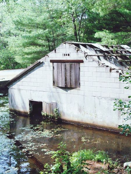 North Andover Massachusetts Harold Parker State Forest New England  Abandoned Buildings Flood