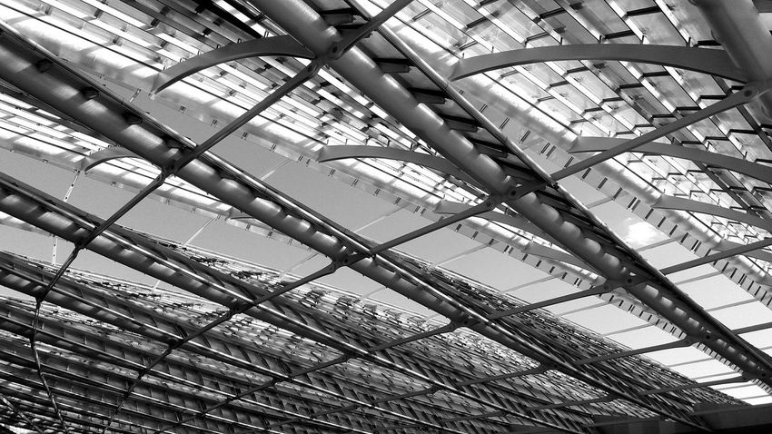 Canopée Les Halles Paris, France  Architectural Detail Architecture_collection Architecture_bw Urbanexploration Contemporary Architecture Glass Roof Urban Geometry Light And Shadow Blackandwhite Architecturelovers Futuristic