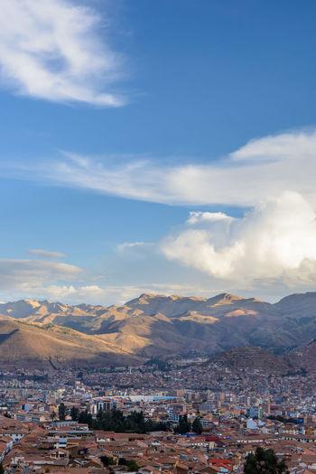 Cusco, Peru Peru Stadium Architecture Built Structure Cityscape Cloud - Sky Day Mountain Mountain Range Outdoors Scenics Sky First Eyeem Photo The Traveler - 2018 EyeEm Awards