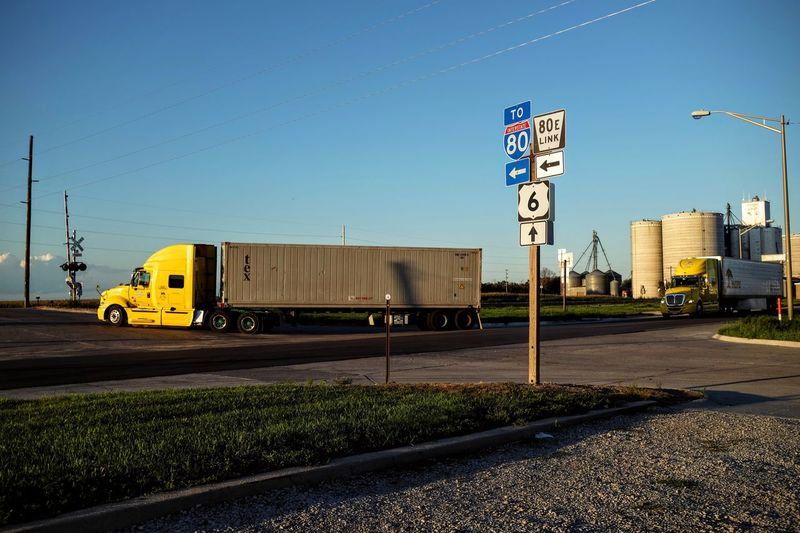 A day in the Life. August 12, 2016 Friend, Nebraska 18wheeler 35mm Camera Americans Bigrig Camera Work Color Photography EyeEm Best Shots Eyeemphoto Freight Transportation FUJIFILM X100S Highway Nebraska Off Camera Flash Photo Essay Rural America Selects Shoot Your Life Small Town Stories Storytelling Summertime The United States Transport Transportation Travel Trucking