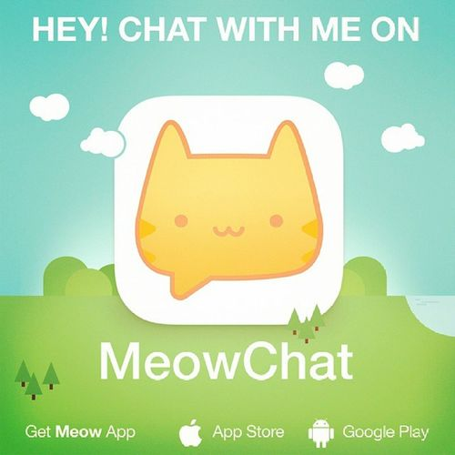 Let's chat on Meow: medoalbeshti. Get the App here: @MeowApp or http://meow.me/?app Meowchat