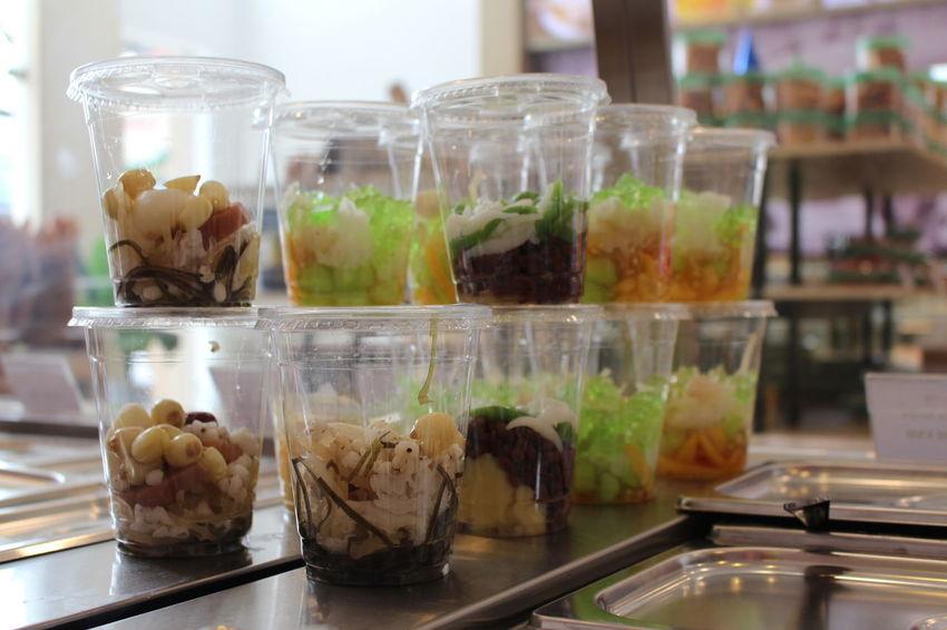 Che Close-up Day Dessert Food Freshness Indoors  Jar Multi Colored No People Sweet Food Tea Temptation Unhealthy Eating Variation Vietnam Food Vietnamese Food Vietnamfoodstreet