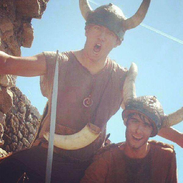 Vikingos Vikinga Romeria 2013 @martinho_09 Tradicion Putos Amos Grandes Ursula Viño Momento Fotos