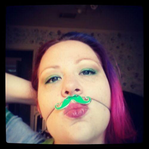 Kiss me, I'm Irish! Happy st pattys day guys...I'm fixin to tear it up! NeverEnoughGreen Stpattysday PinchMe