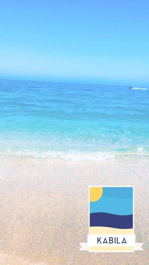 Water Clear Sky Sea Wave Beach Blue Sand Multi Colored Summer Horizon
