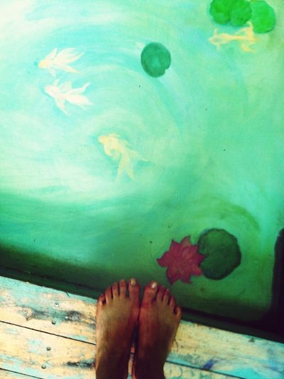 Earthship floor. Very sweet. Eye4photography  EyeEm Best Shots NEM Painterly Feet