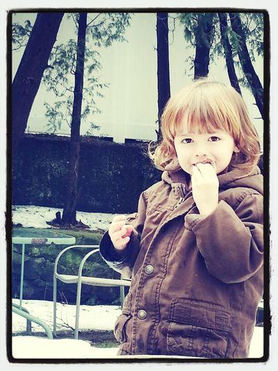 My adorable future nephew Kaden.