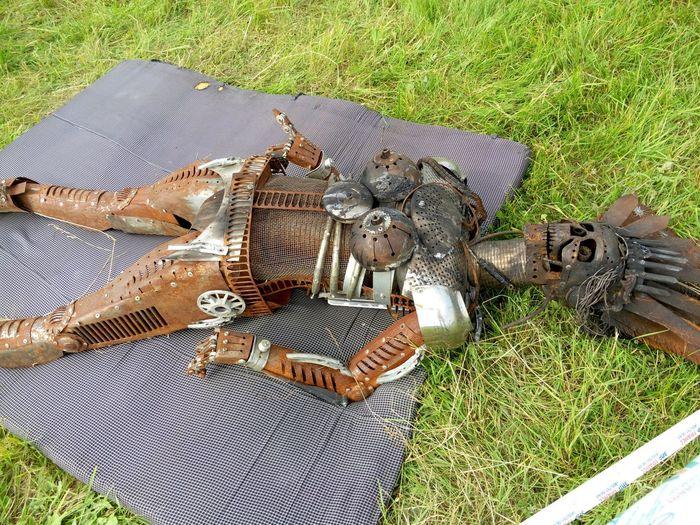 Russia Тверская область Meizumx4 Handmade Art Statue Нашествие2015
