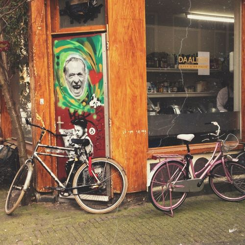 Amsterdam Jordaan Street Art The Street Photographer - 2014 EyeEm Awards