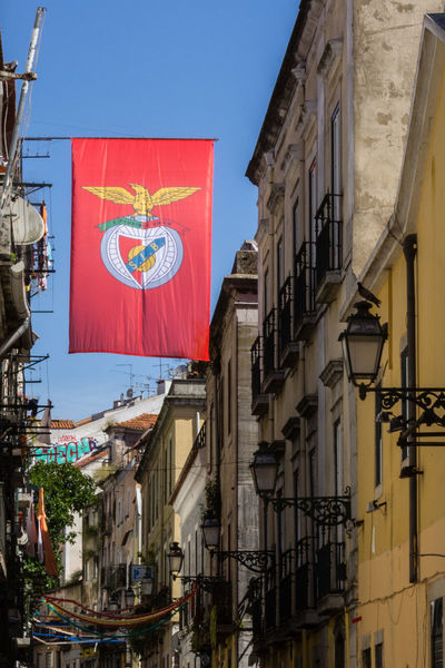 Benfica Sport Lisboa E Benfica Architecture Building Exterior Built Structure City Clear Sky Day Flag No People Outdoors Sky Slb Slbenfica