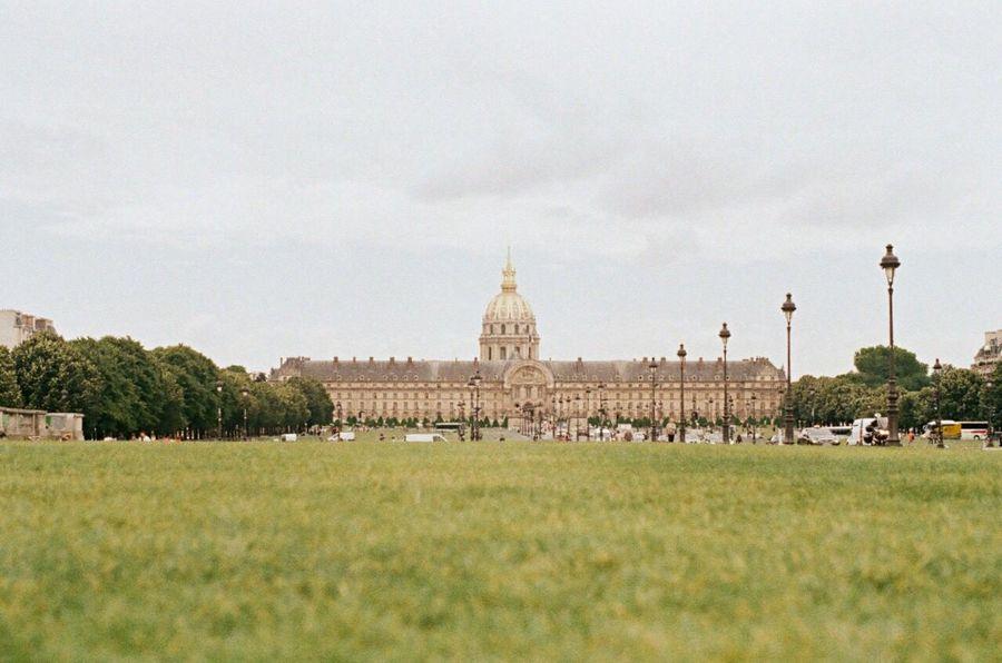 Quand j'ai été à Paris Napoleon 35mm Pentax Mx