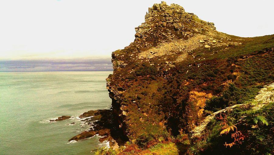 Cliffs Sea And Sky Seascape Sea