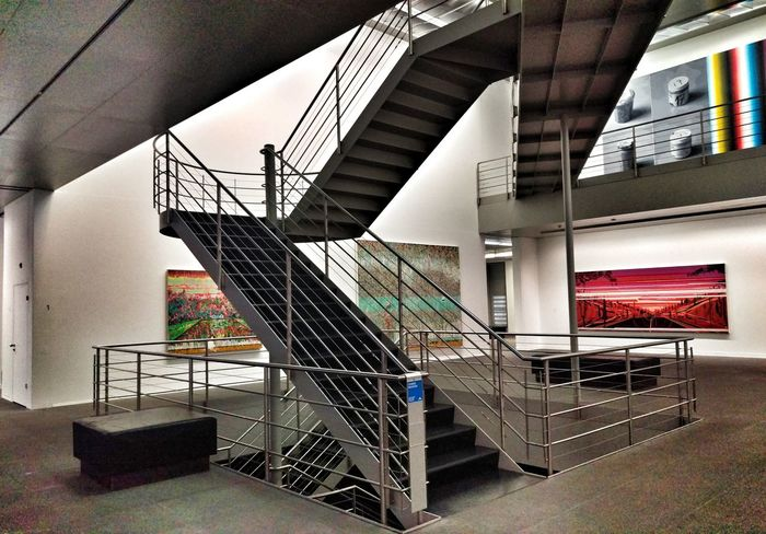 Stairs Pictures Paintings Art Exhibition Chinese Whispers Sigg Collection Kunstmuseum Bern Switzerland The Architect - 2016 EyeEm Awards