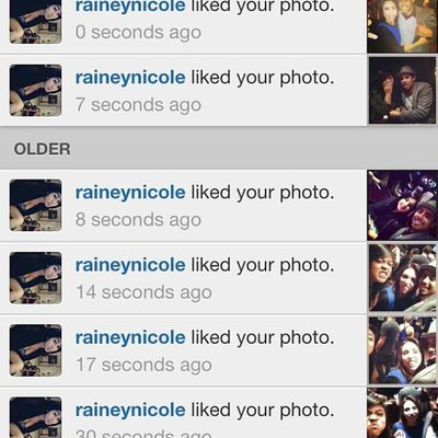 Shout out to @raineynicole for all the love....