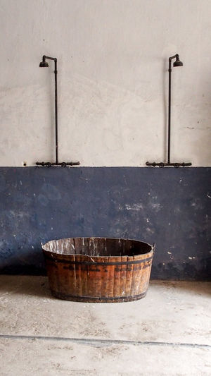 Abandoned Abandoned Places Bath Bathroom Bradley Olson Bradleywarren Photography Historic Historical Man Made Object No People Old Old Buildings Old House Old Town Outdoors Prison Ship Shower Showers Vintage Wall - Building Feature War Wash Wash Tub Weathered