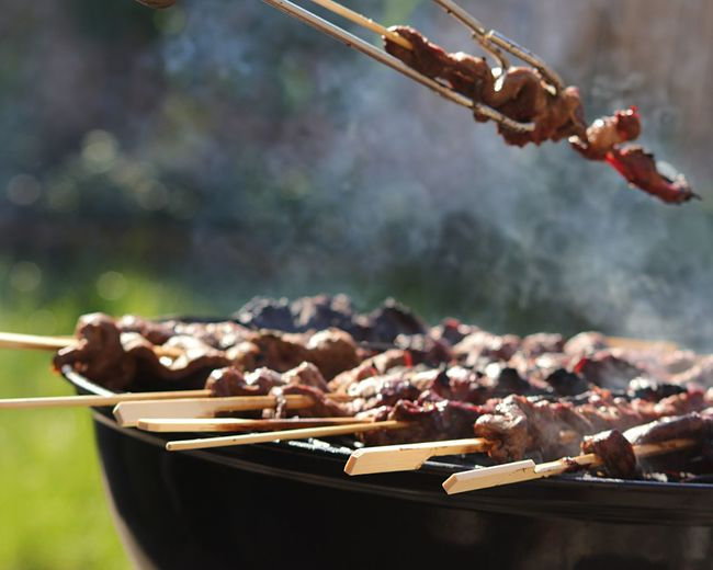 BBQ Barbecue BBQ EyeEm Selects Food Food And Drink Meat Focus On Foreground Freshness Barbecue Barbecue Grill Preparing Food Grilled Outdoors Skewer Focus On The Story