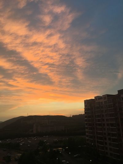 Sunset.... EyeEm Life Nature Colors Sunset Today's Sunset Present 希望 Clouds And Sky Life Is Beautiful
