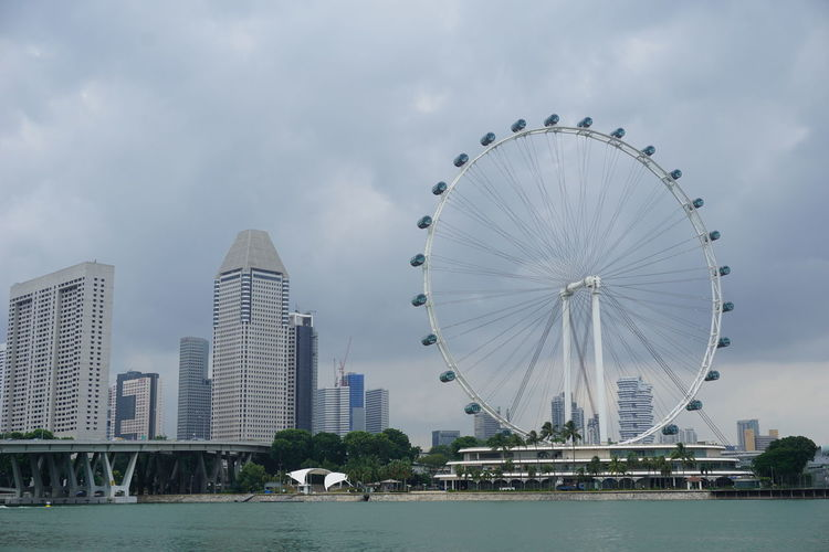 City Cityscape Land Singapore Singapore Flyer Singapore View Travel View Singapore City