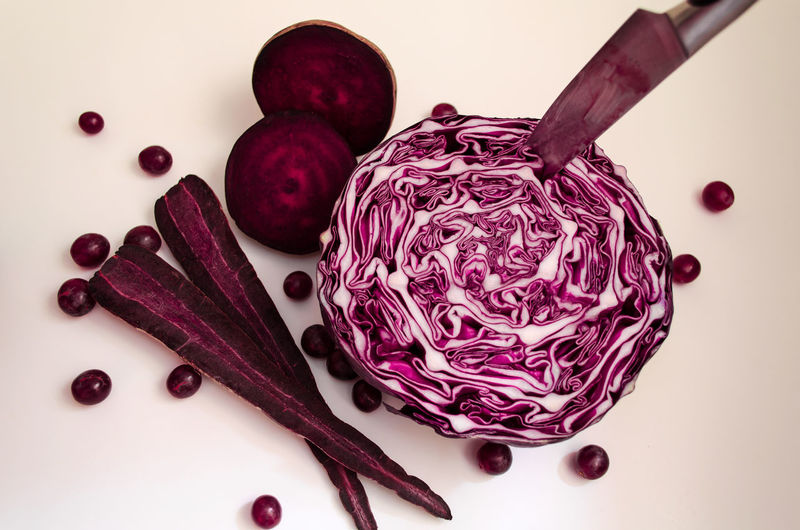 Still life in purple Beetroot Cabbage Carrot Food And Drink Freshness Healthy Eating No People Purple Red Kraut Vegetables Vegetables & Fruits White Background Art Is Everywhere BYOPaper!