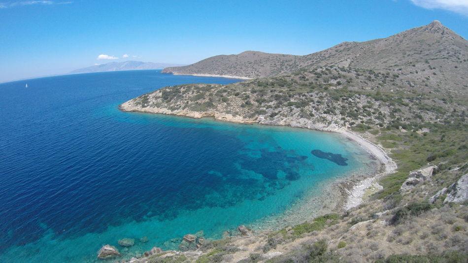 Aegean Sea Aerial View Beach Beauty In Nature Blue Datça Landscape Nature No People Rocky Scenics Sea Sky Summer Travel Travel Destinations Turkey Turkeystagram Water