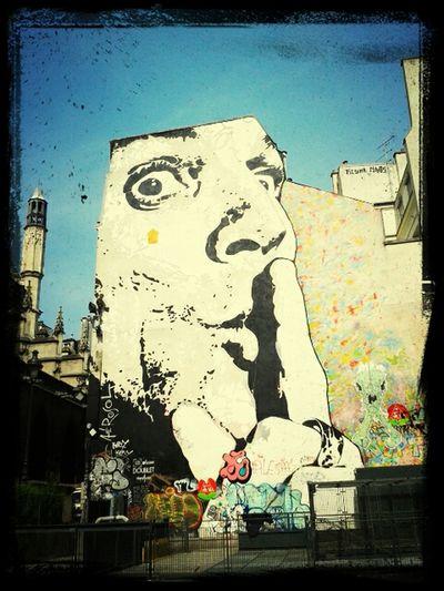 Shut it. Street Art
