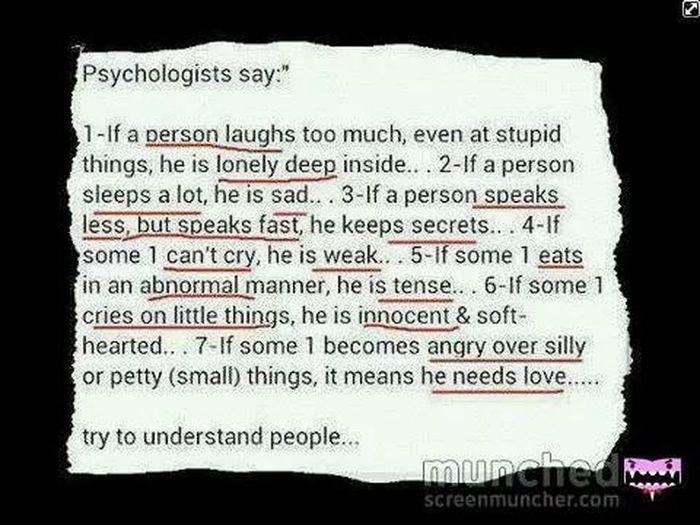 Phsycological I Need Love & Affection ♥ Aye ♥