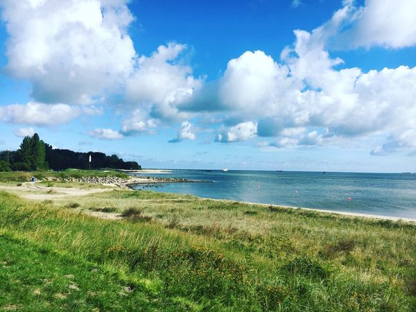 Sea Beach Horizon Over Water Cloud - Sky Water Outdoors Sky Beauty In Nature