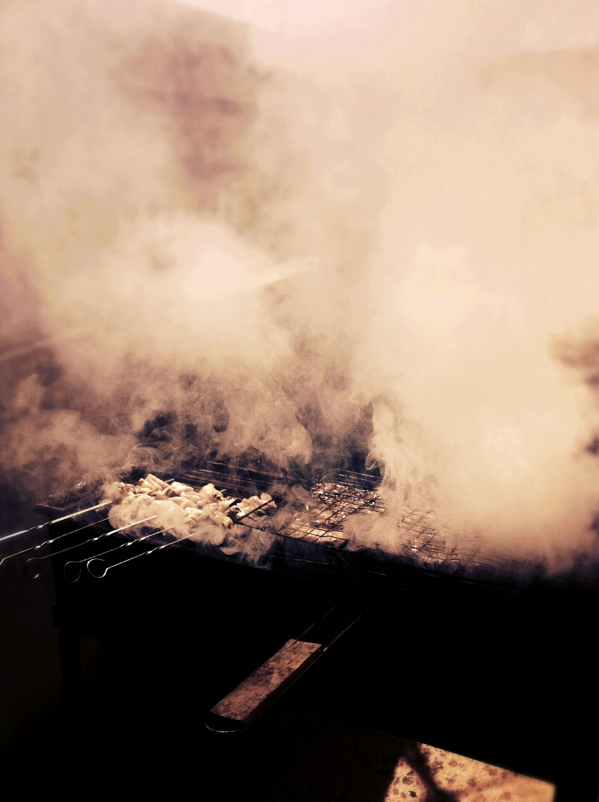 no people, smoke - physical structure, indoors, nature, sky, close-up, day