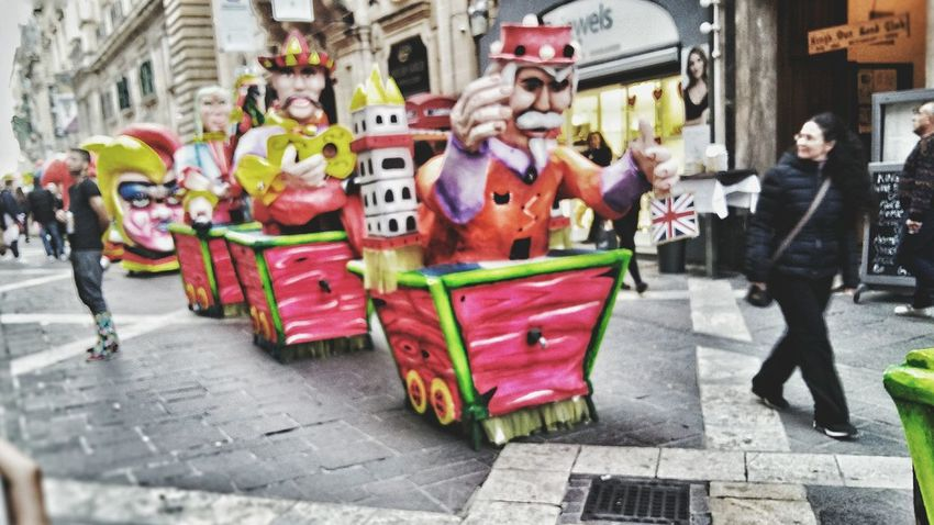 Carnival Crowds And Details Street Outdoors Adults Only Clown Men Large Group Of People Adult People Day Smile Blurred Blurred Motion Motion Motion Blur Mini EyeEmNewHere