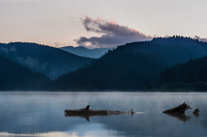 Cold Temperature Lacul Bolboci Lake Lake View Lakeview Landscape Long Exposure Mountain Nature Romania