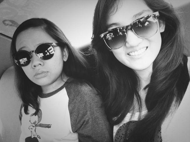 With my bestfriend :)