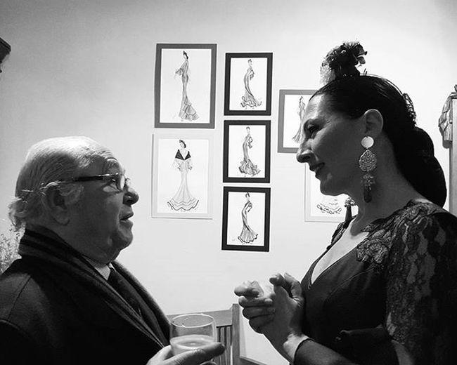 """Toni Benítez y Rosa Belmonte I Showroom Flamenco """"Más que flamencas"""" en @libelula_shop con @yelpsevilla Yelpsevilla"""