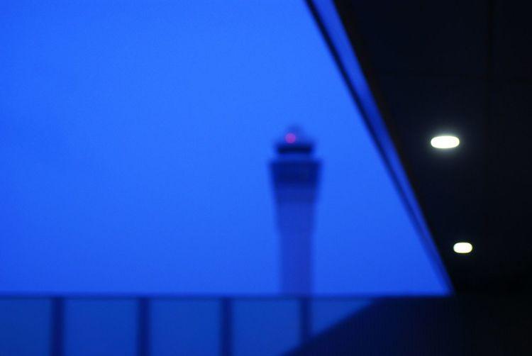 Taking Photos Silhouette Nightphotography Airport Rainy Days