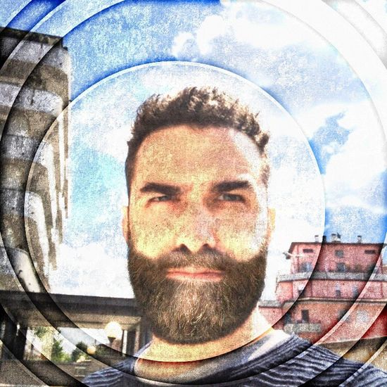 One Person Beard Front View Portrait Day Lifestyles Architecture Leisure Activity Selfie Real People Looking At Camera Headshot Built Structure Outdoors Close-up Young Adult Technology Building Exterior Fish-eye Lens One Man Only